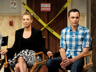 Kaley Cuoco, Jim Parsons