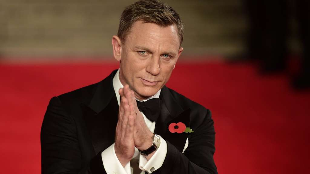 Daniel Craig James Bond Spectre London