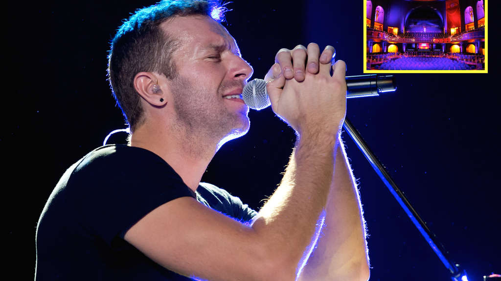 "Coldplay stellen im Capitol Offenbach exklusiv ihr neues Album ""A Head Full Of Dreams"" vor."