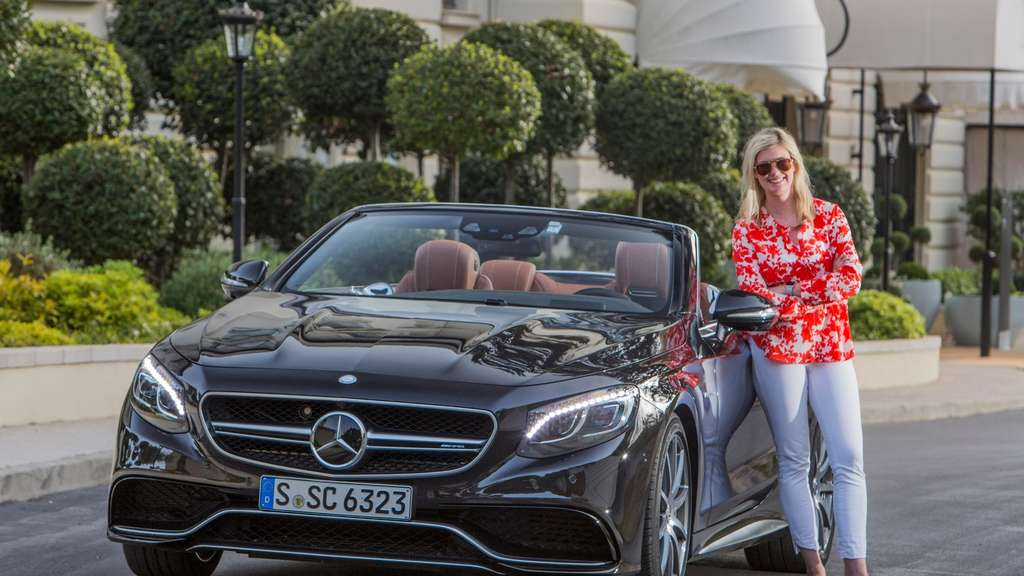 Das Mercedes S-Klasse Cabrio in der AMG-Version S 63 4 Matic.