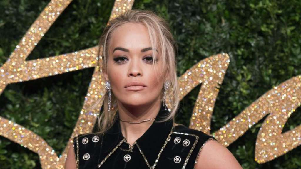 Rita Ora bei den British Fashion Awards 2015 in London. Foto: Will Oliver