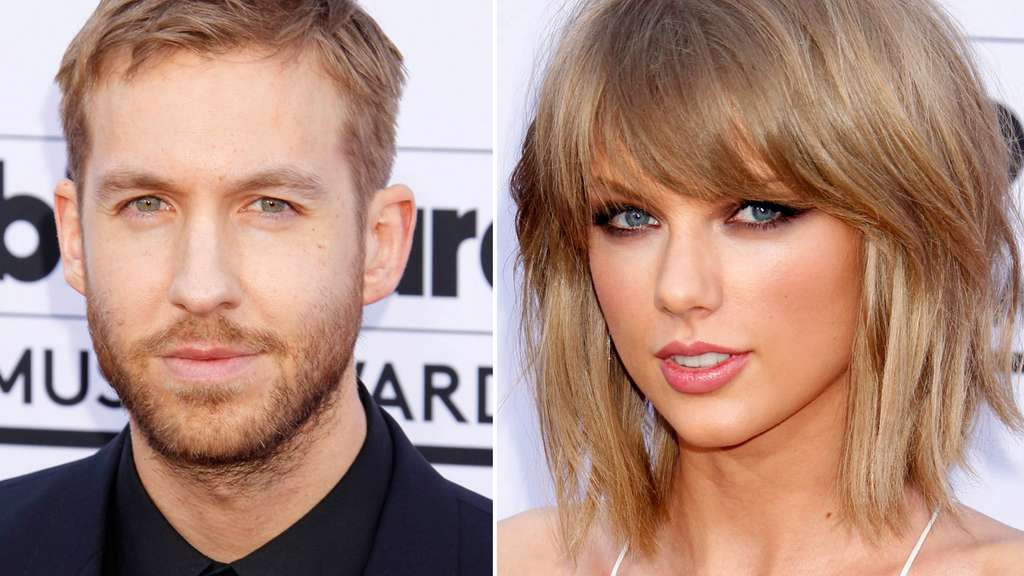 Taylor Swift und Calvin Harris.