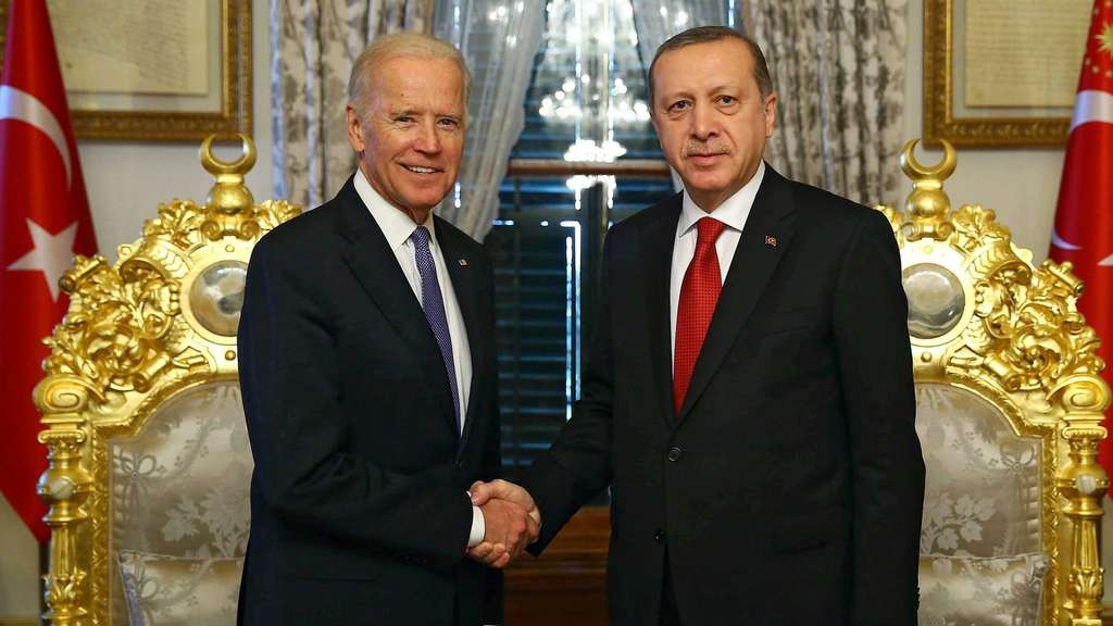 US Vice President Joe Biden visits Turkey