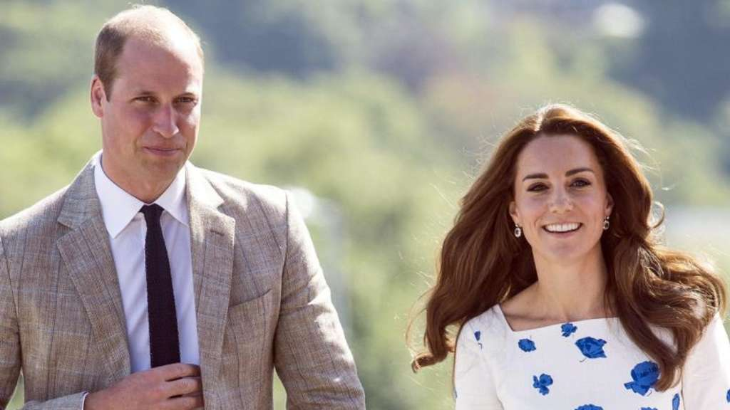 William und Kate in Luton. Foto: Will Oliver