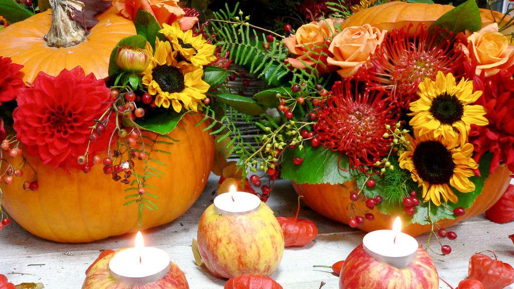Garten & Natur Aus der Natur einfache Deko für den Herbst