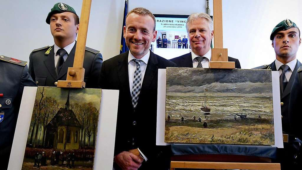Two Van Goghs recovered from Camorra