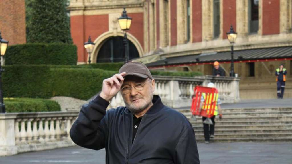 Phil Collins in London vor der Royal Albert Hall Foto: Philip Dethlefs