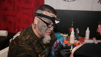 Tattoo Convention 2016: 'Buntes Weihnachten'