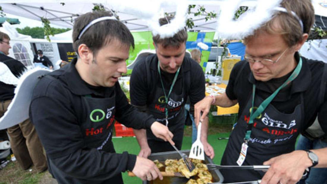 Grillen ist eine Wissenschaft für sich. Diese Männer grillten im Mai um den deutschen Meistertitel.