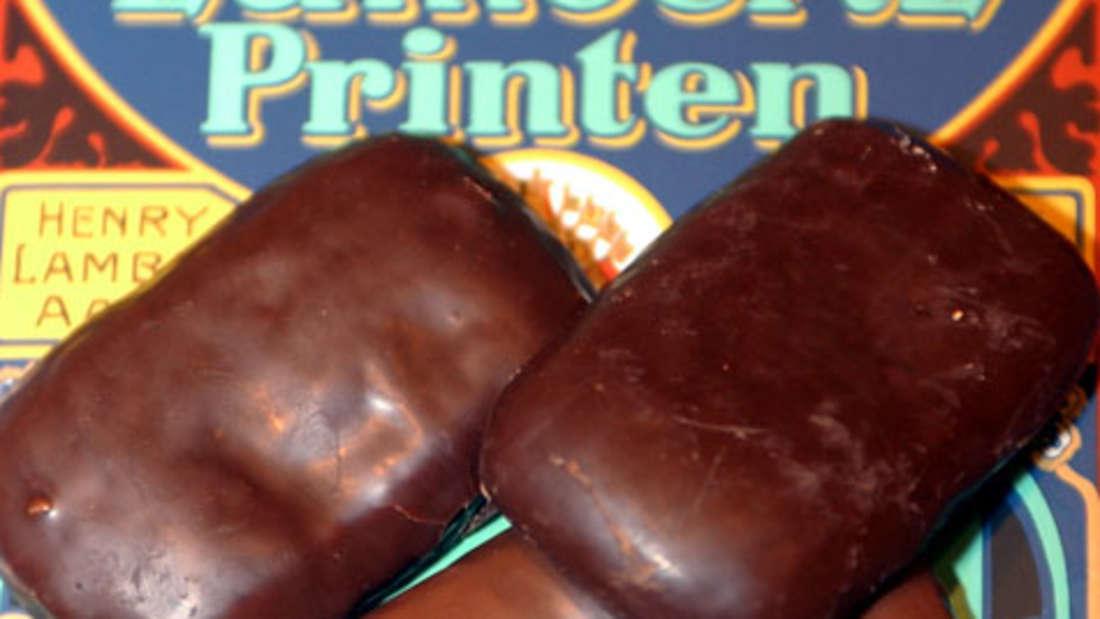 Aachener Printen: 450 Kcal (pro 100 g)/ 50 Kcal (pro Portion). Sie sind die Kalorien-Giganten unter den Lebkuchen. Der Fettanteil liegt bei satten 20 Prozent!
