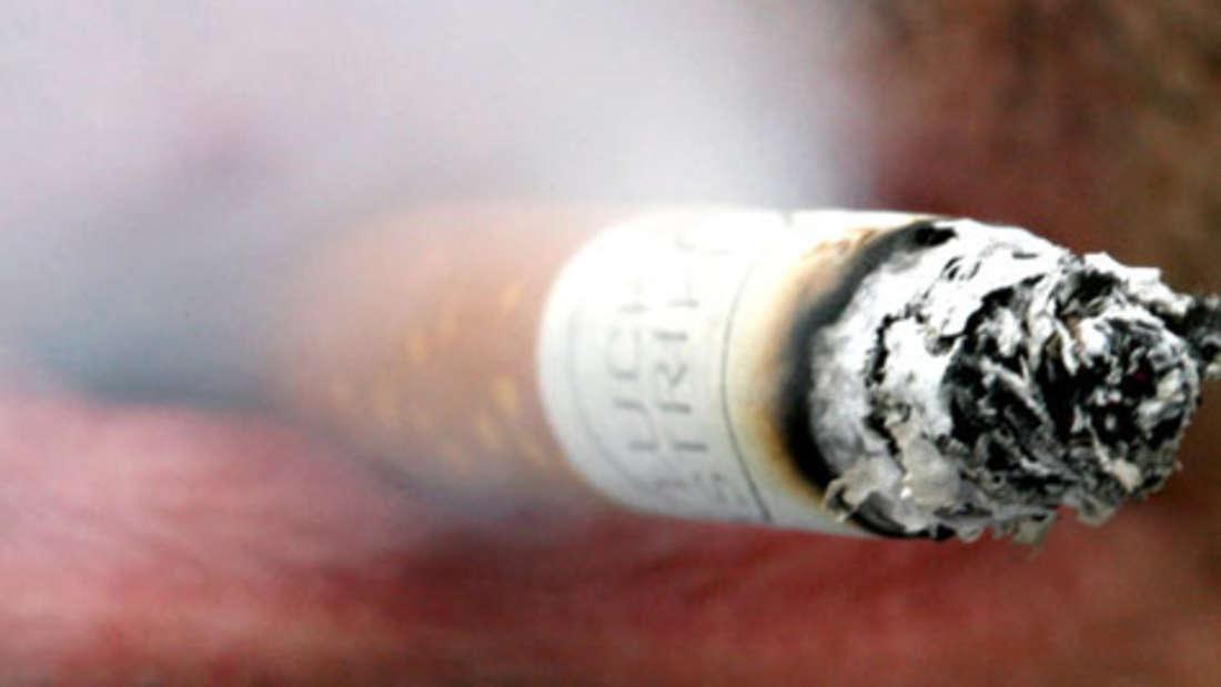 Schlecht für die Augensind Rauchen und Übergewicht.
