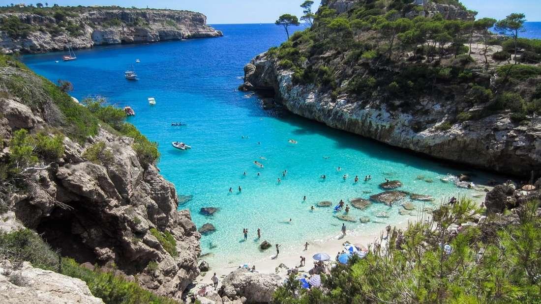 Platz 1: Unangefochtene Nummer eins ist und bleibt Mallorca. Die Inselist seit vielen Jahren eines derbeliebtes Reiseziele der Deutschen.