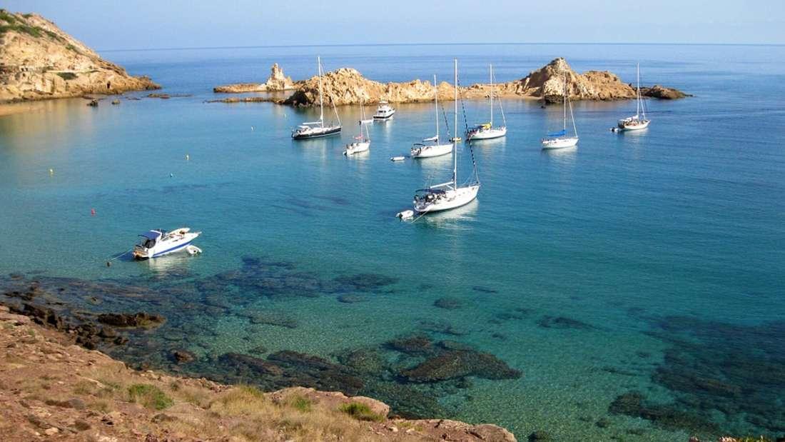 Platz 7: Menorca.Die kleine Baleareninsel versprichtRuhe und Entspannung.