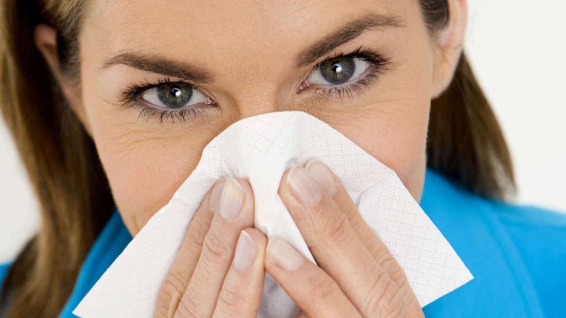 Irrtum Fünf: Schnäuzen ist besser als Nase hochziehen. Wer den Schleim in der Nase hochzieht, saugt ihn auch aus den Nebenhöhlen und entsorgt ihn im Magen. Beim Schnäuzen wird er nicht nur ins Taschentuch, sondern auch die Nebenhöhlen gedrückt. Dort bildet er einen Nährboden für Erreger.