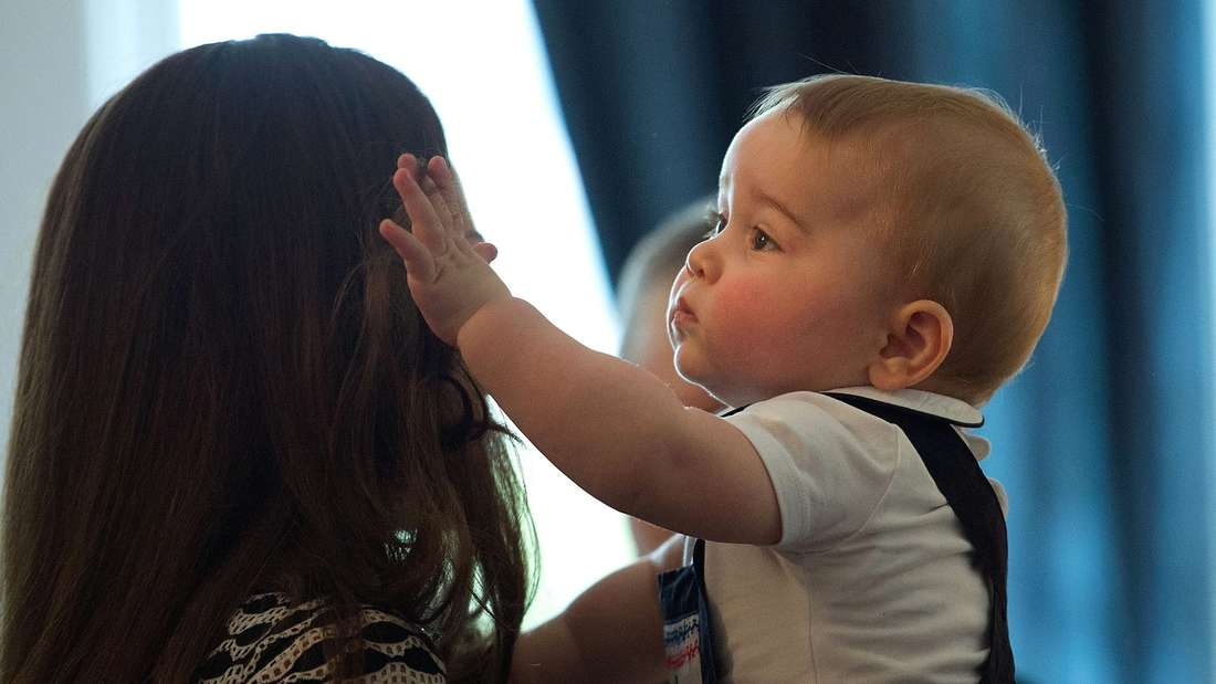 Prinz George in Neuseeland