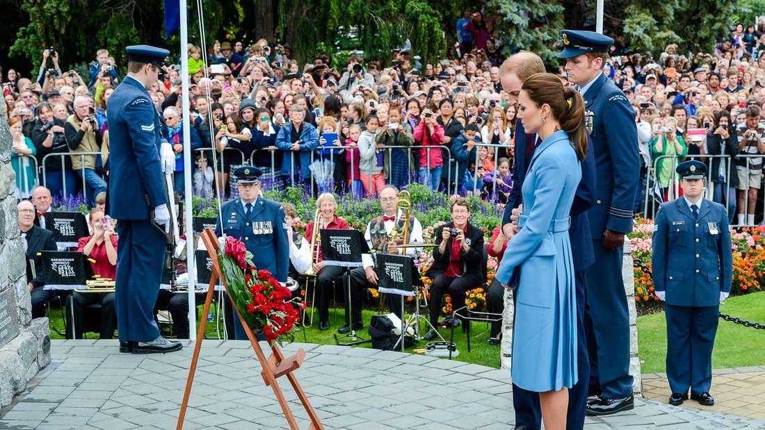Prinz William, Kate, Neuseeland