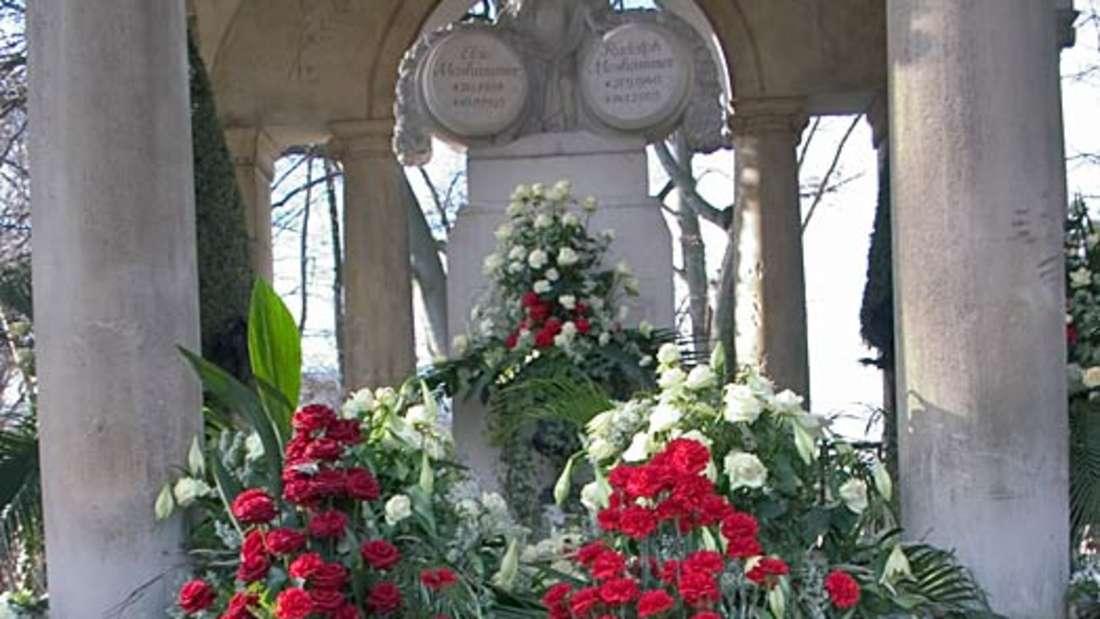 Rudolph Moshammer, Grab, Mausoleum