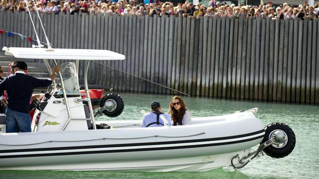 Prinz William, Kate, segeln