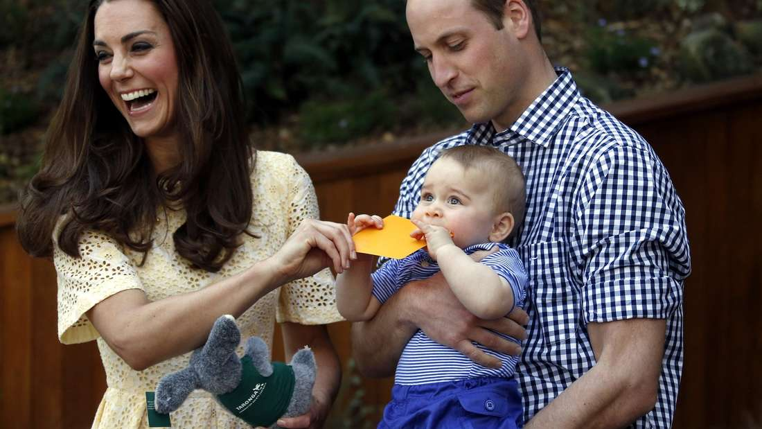 Die britischen Royals im Zoo von Sydney - Bilder