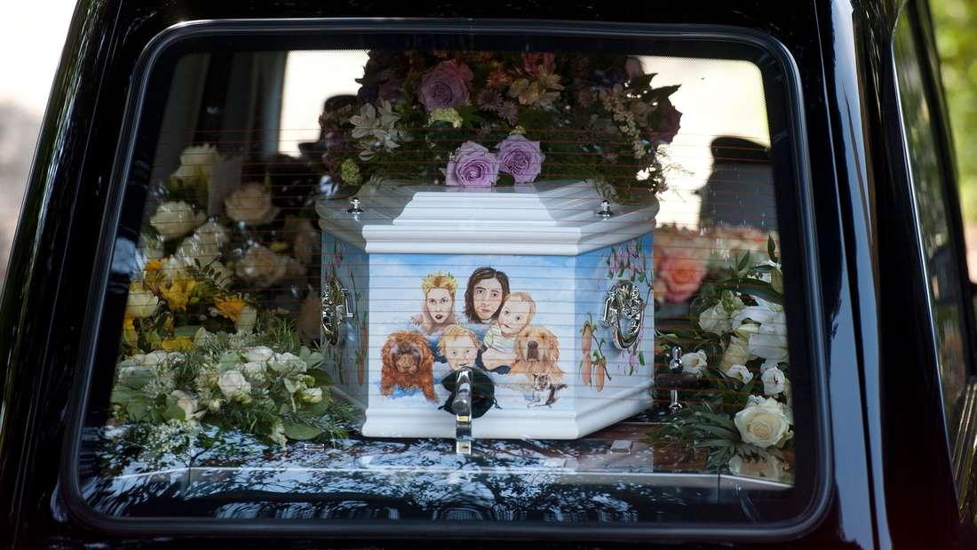 Peaches Geldof Beerdigung