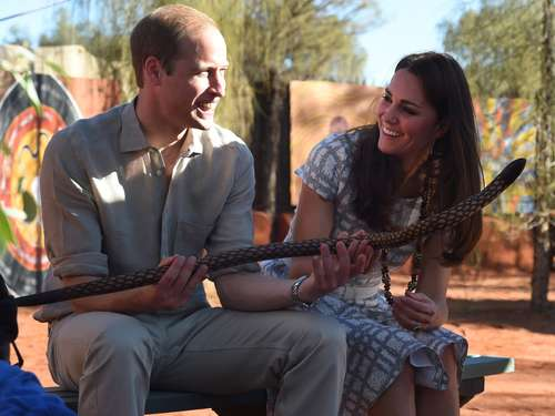 William und Kate: Besuch bei den Aborigines