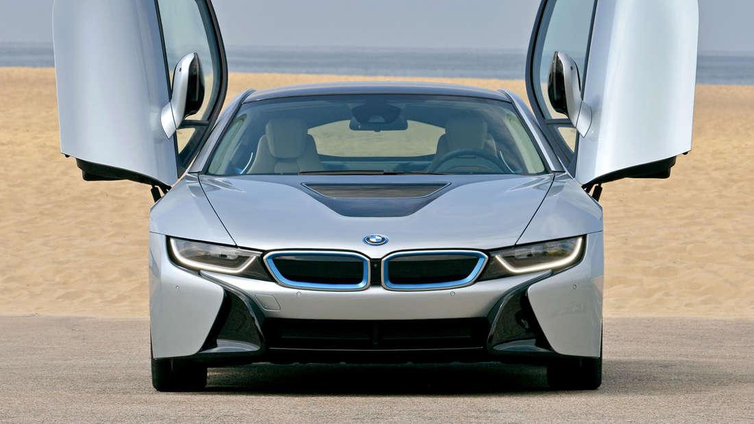 BMW i8: Plug-in-Hybrid Sportler mit einer Gesamtleistung von 362 PS.
