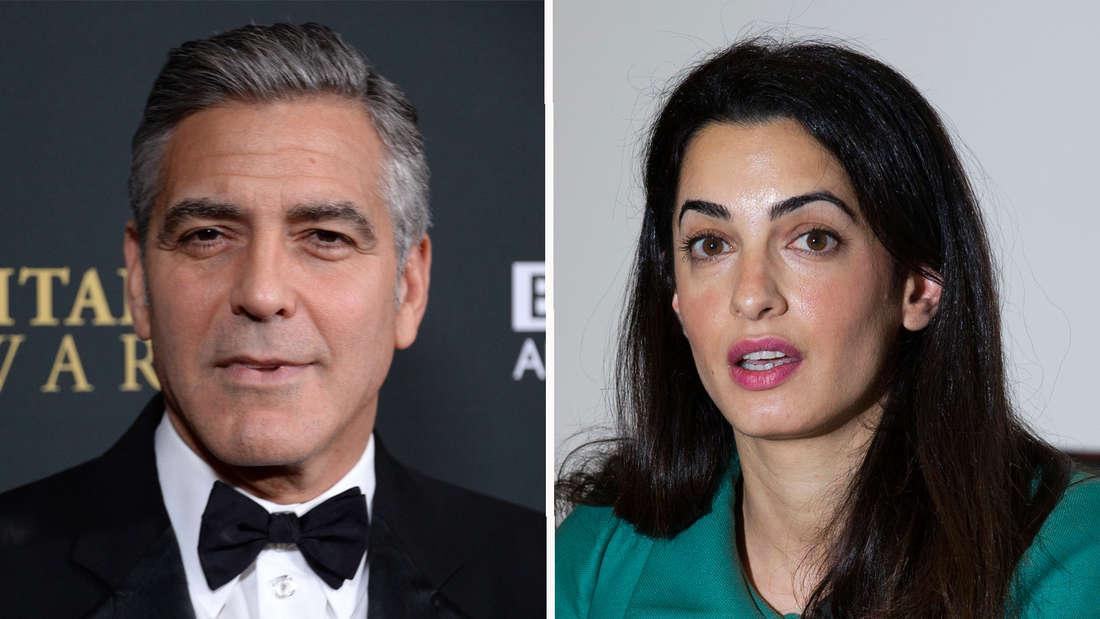George Clooney und Amal Alamuddin verlobt