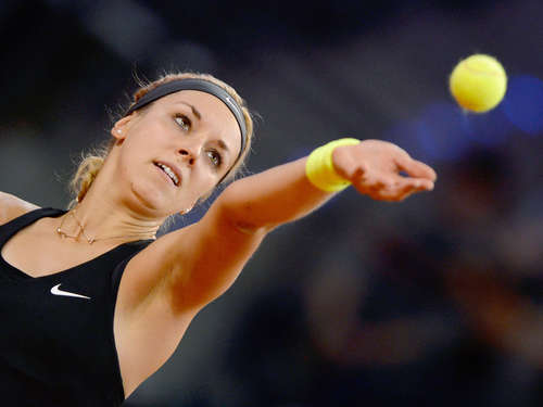 Lisicki im Achtelfinale in Madrid