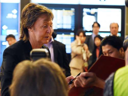 Paul McCartney krank - Tour abgesagt
