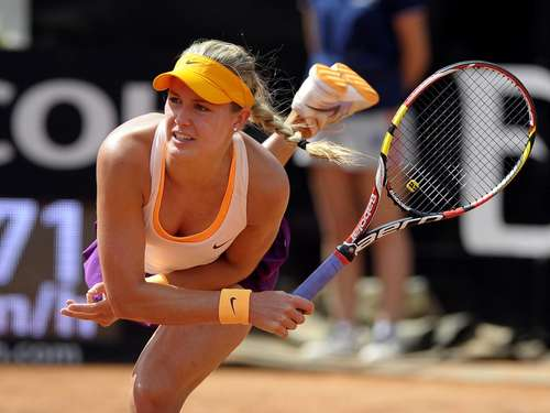Erster Turniersieg: Eugenie Bouchard in Aktion