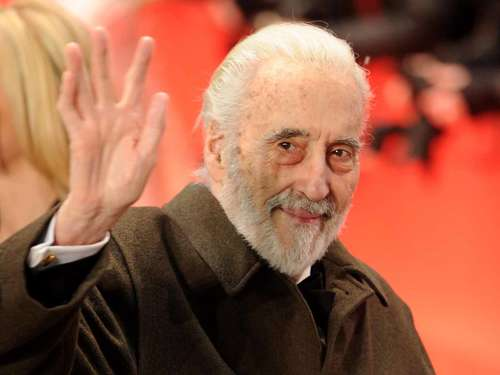 Christopher Lee feiert 92. mit Heavy Metal
