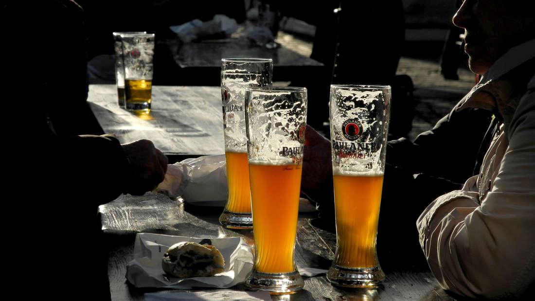 Paulaner, Weißbier, Biergarten