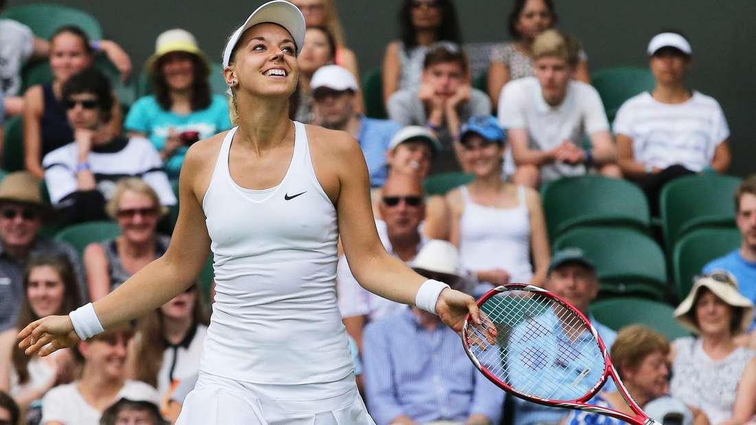 Sabine Lisicki hat ihre Wimbledon-Auftaktpartie gewonnen.