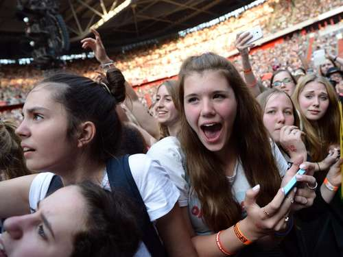 """One Direction""-Konzert in Düsseldorf"