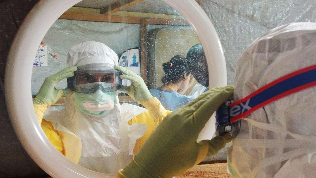 Ärzte ohne Grenzen - Einsatz gegen Ebola.