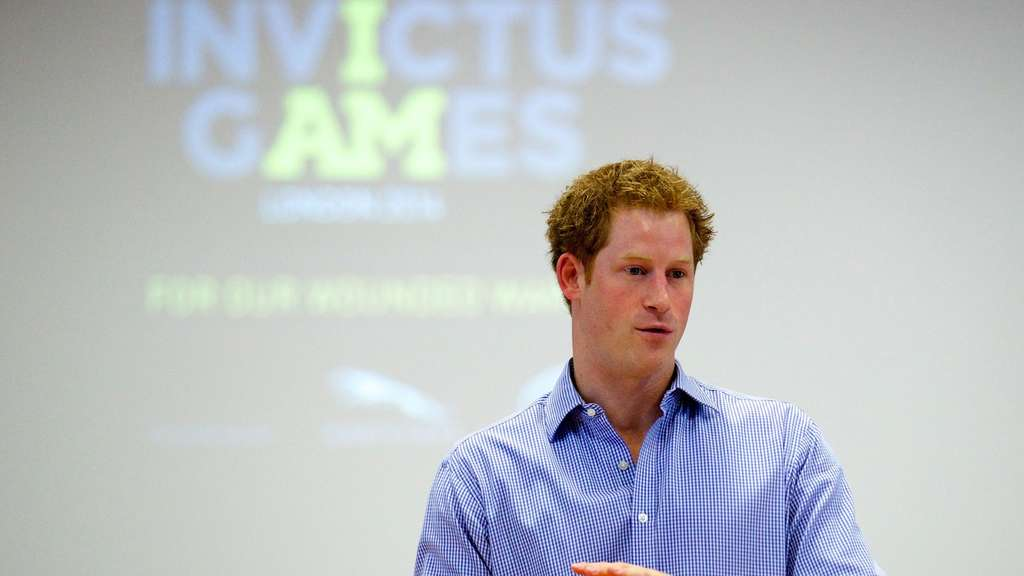 Prinz Harry Twitter Invictus Games