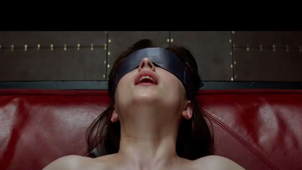 "Dakota Johnson spielt Anastasia Steele in dem Film ""Fifty Shades of Grey"""