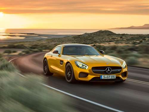 Supersportler Weltpremiere: Mercedes AMG GT