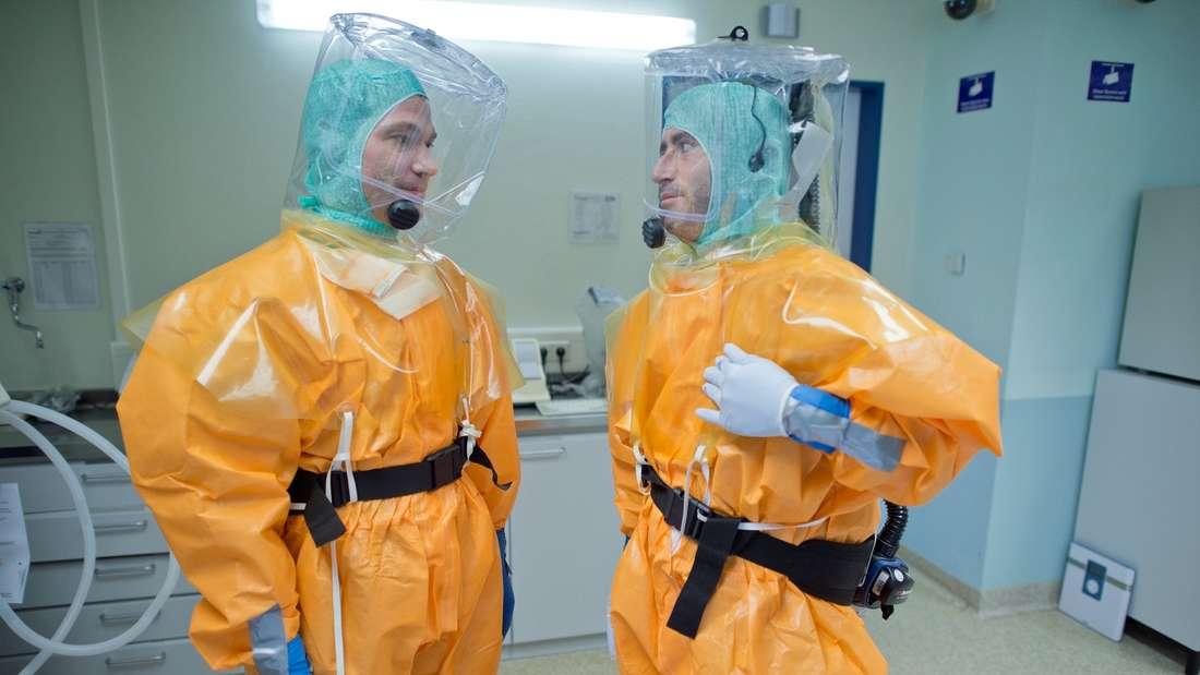 Schutzkleidung gegen Ebola