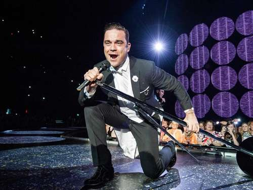 Robbie Williams twittert Vaterschaft