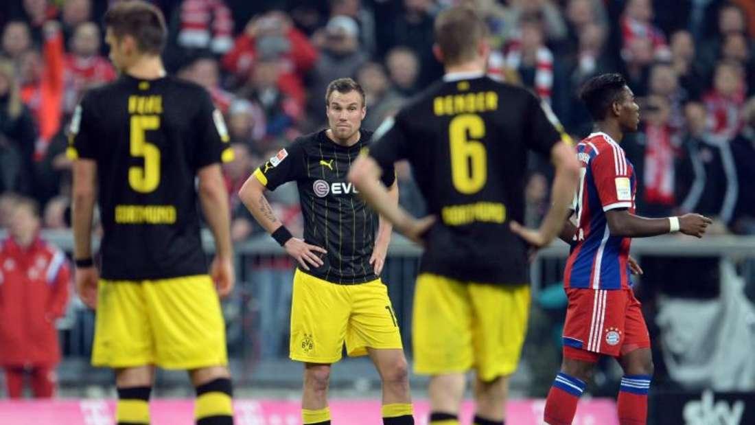 Die Dortmunder kassierten die fünfte Niederlage in Serie. So schlecht war der BVB noch nie. Foto: Andreas Gebert
