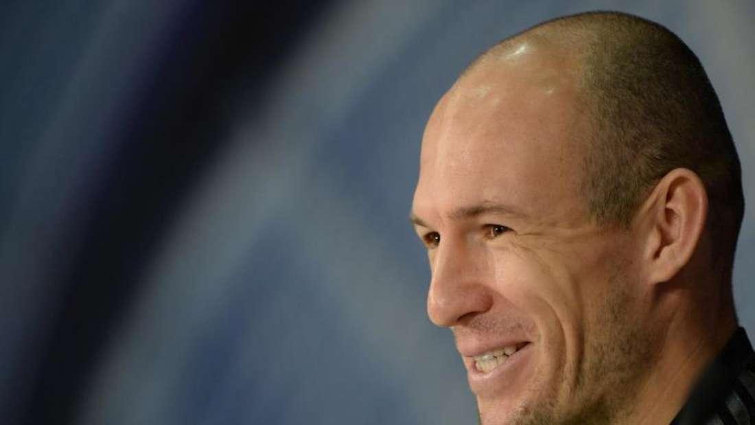 Arjen Robben will den frühzeitigen Gruppensieg. Foto: Andreas Gebert