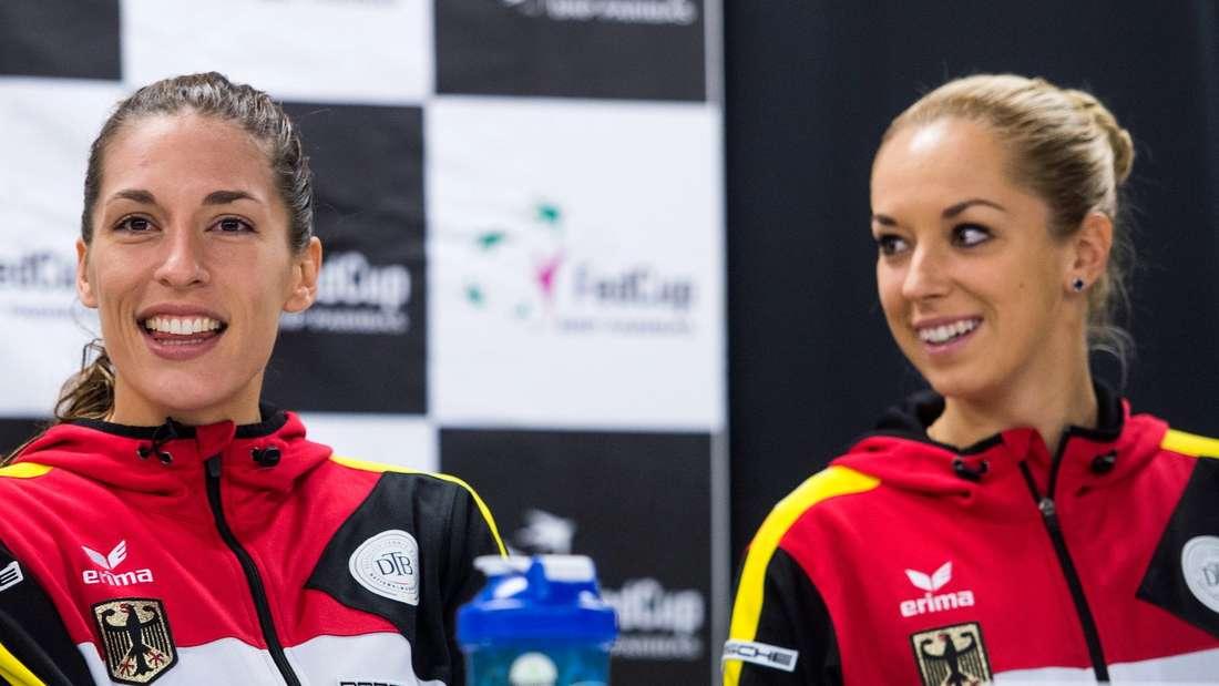 Andrea Petkovic (l.) und Sabine Lisicki.
