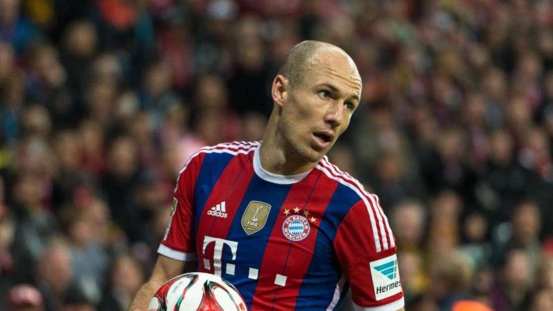 Arjen Robben kann gegen den AS Rom nicht spielen. Foto: Andreas Weihmayr