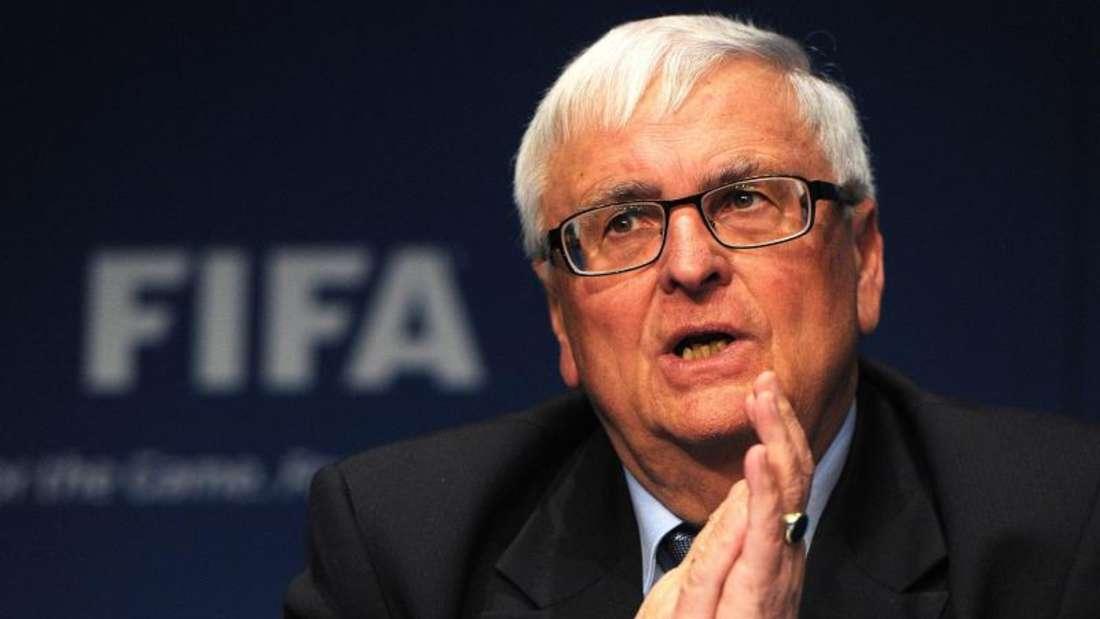 Theo Zwanziger ist Mitglied des FIFA-Exekutivkomitees. Foto: Steffen Schmidt