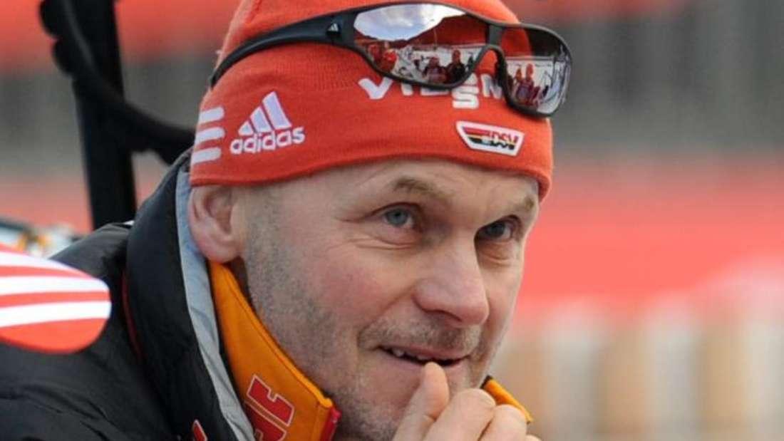 Gerald Hönig ist der Bundestrainer der deutschen Biathlon-Damen. Foto: Tobias Hase