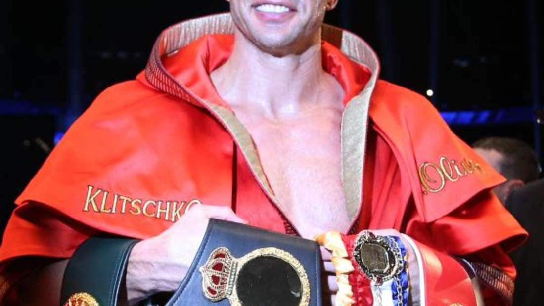 Wladimir Klitschko bleibt Boxweltmeister aller Klassen. Foto: Christian Charisius