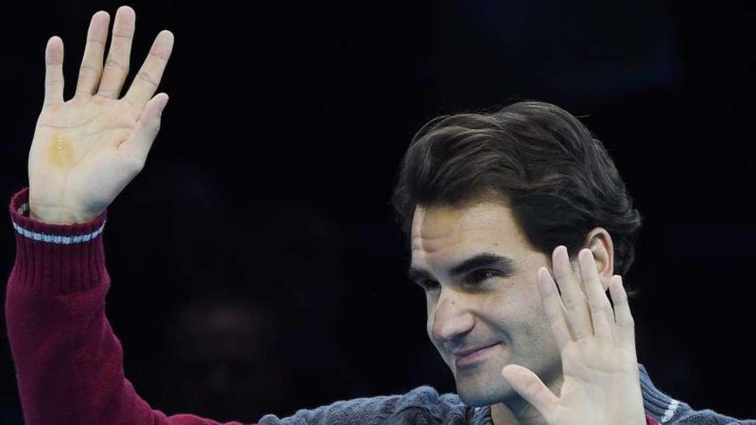 Roger Federer musste das Finale verletzungsbedingt absagen. Foto: Andy Rain