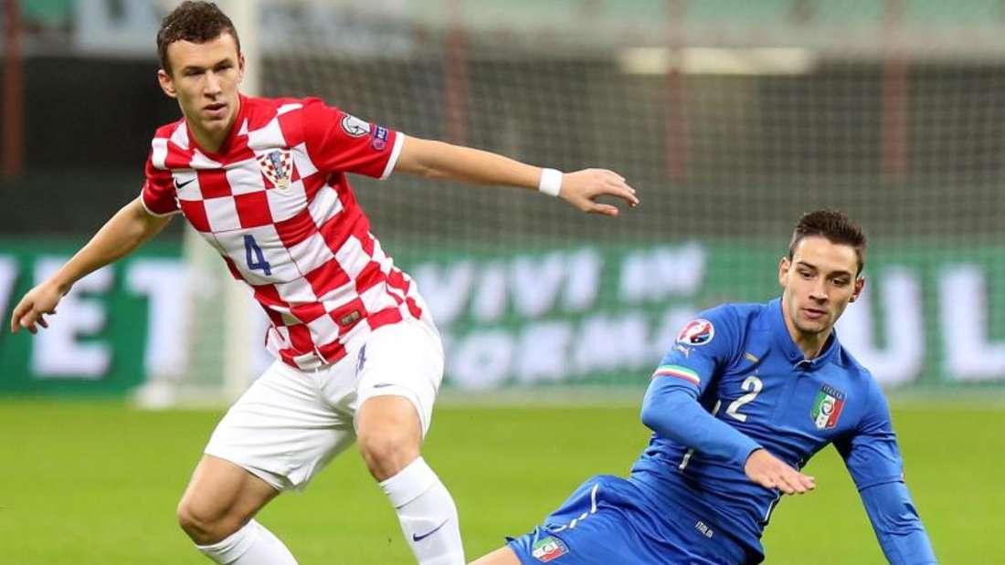 Ivan Perisic sorgte dafür, dass sich Italien und Kroatien die Punkte teilten. Foto: Matteo Bazzi