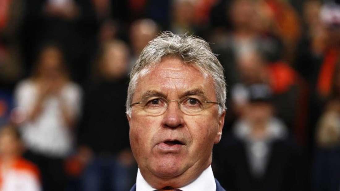 Guus Hiddink bleibt Trainer der Niederlande. Foto: Vincent Jannink